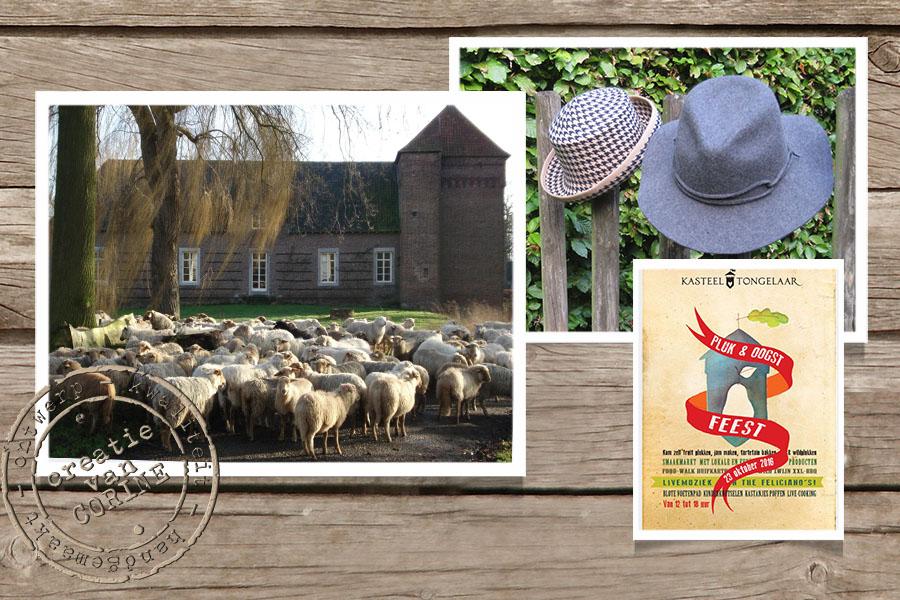 op een landgoed, draag je een hoed…..