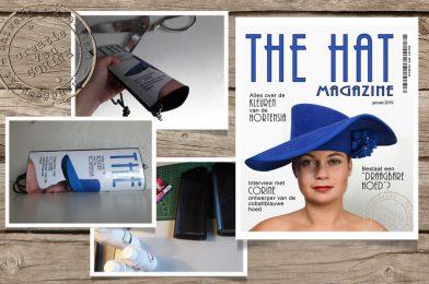 mijn kobaltblauwe hoed
